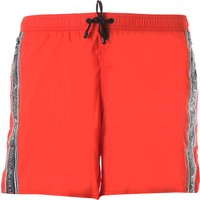 Emporio Armani Swim Shorts Trunks for Men On Sale in Outlet, Red, polyester, 2021, L L (EU 50) XL (E