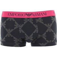 Emporio Armani Boxer Briefs for Men, Boxers, Anthracite Grey, Cotton, 2021, L S