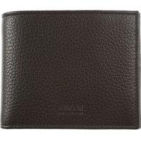 Emporio Armani Wallet for Men, Black, Leather, 2017
