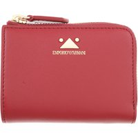 Emporio Armani Wallet for Women On Sale, Bordeaux, Leather, 2019