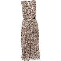 Elisabetta Franchi Dress for Women, Evening Cocktail Party On Sale, Brown, polyestere, 2019, 10 12 8