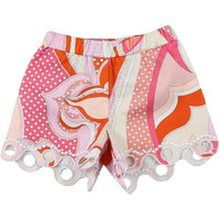 Emilio Pucci Baby Shorts for Girls On Sale, fucsia, Cotton, 2019, 12M 18M 2Y