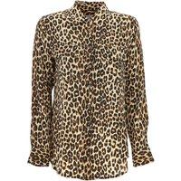 Equipment Femme Camisa de Mujer, Leopardo