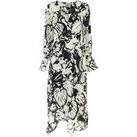 ESSENTIEL Antwerp Dress for Women, Evening Cocktail Party On Sale, White, Silk, 2019, 10 8