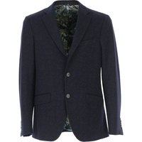 Etro Blazer for Men, Sport Coat, Navy Blue, Wool, 2019, L M S XL