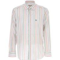 Etro Shirt for Men On Sale, White, Cotton, 2019, 15.75 16 16.5