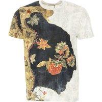 Etro T-Shirt for Men On Sale, White, Cotton, 2019, L M S