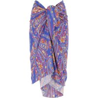 Etro Skirt for Women On Sale, Bluette, Viscose, 2021