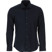 Fay Shirt for Men On Sale, Blue Navy, Cotton, 2019, 15 15.5 15.75 16 16.5 17 17.5