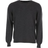 Fay Sweater for Men Jumper, Tar, Wool, 2019, XL XXL