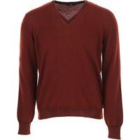 Fay Sweater for Men Jumper On Sale, Bordeaux, Virgin wool, 2021, L XL XXL