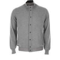 Fay Sweater for Men Jumper, Grey, Virgin wool, 2019, XL XXL