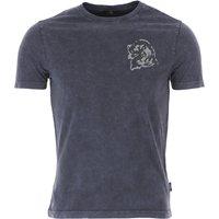 Fay T-Shirt for Men On Sale, Dark Petrol Blue, Cotton, 2019, L M S