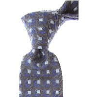Fefe Napoli Ties On Sale, Asphalt Grey, Silk, 2021