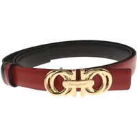 Salvatore Ferragamo Womens Belts On Sale in Outlet, Red, Leather, 2017, 38 inches - 95 cm 40 inches