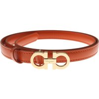 Salvatore Ferragamo Womens Belts On Sale in Outlet, Punch, Leather, 2017, 36 inches - 90 cm 38 inche