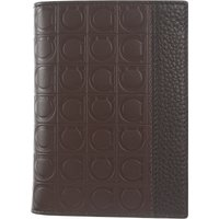 Salvatore Ferragamo Card Holder for Men On Sale, Brown, Leather, 2019