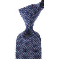 Salvatore Ferragamo Ties On Sale, Royal Blue, Silk, 2019