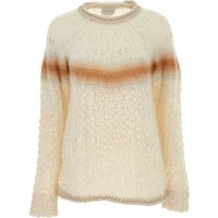 Forte Forte Sweater for Women Jumper, Natural, Mohair, 2019, 1 - S - IT 40 2 - M - IT 42