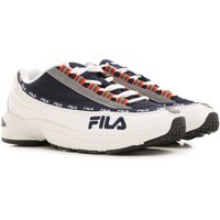 Fila Sneakers for Men On Sale in Outlet, White, Leather, 2019, 10 11 8 9