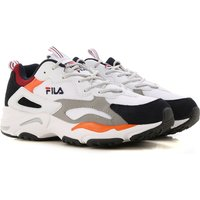 Fila Sneakers for Men On Sale, White, Fabric, 2019, 10 10.5 7 8 9