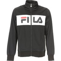 Fila Sweatshirt for Men, Black, polyestere, 2019, M S