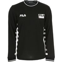 Fila T-Shirt for Men On Sale, Bright White, polyester, 2019, L S