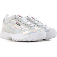 Fila Sneakers for Women, Silver, Eco Leather, 2019, ITA 39 - USA 8.5 - UK 6 ITA 40 - USA 9.5 - UK 7