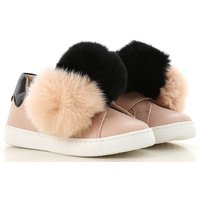 Florens Kids Shoes for Girls, Pink, Leather, 2019, 20 21 22 23 24 25 26 27 28 29