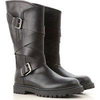 Florens Kids Shoes for Girls, Black, Leather, 2019, 31 32 33 34 35 36 37 38