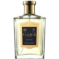 Floris London Fragrances for Men Baratos en Rebajas, Santal - Eau De Toilette - 50-100 Ml, 2019, 50 ml 100 ml