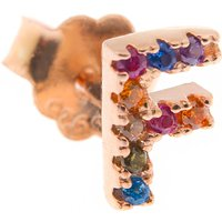 Francesca Angelone Earrings for Women On Sale, Rose Gold, Silver 925, 2019