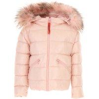 Freedomday Girls Down Jacket for Kids, Puffer Ski Jacket On Sale, Pink, Nylon, 2019, 4Y 8Y