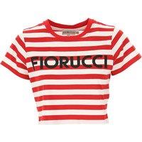Fiorucci Camiseta de Mujer, Rojo, Algodon, 2019, 38 40 44 M