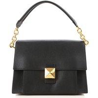 Furla Tote Bag, Black, Leather, 2019