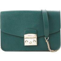 Furla Shoulder Bag for Women On Sale, Cypress Green, Leather, 2019