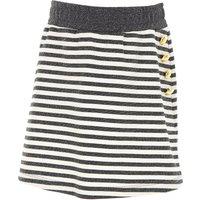 Gaelle Kids Skirts for Girls On Sale, Grey, viscosa, 2019, 12Y 14Y 16Y 8Y