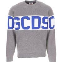 GCDS Sweater for Men Jumper On Sale, Grey, Cotton, 2019, L M S XL XS