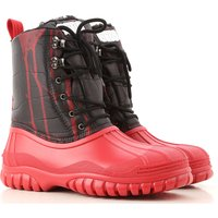 GCDS Boots for Men, Booties On Sale in Outlet, Red, Nylon, 2021, 7 8 9 9.5