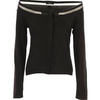 Guess Sweater for Women Jumper On Sale, Black, Viscose, 2021, 10 8
