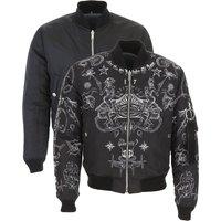 Givenchy Down Jacket for Men, Puffer Ski Jacket On Sale, Black, polyamide, 2019, M S