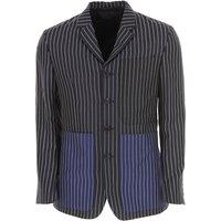 Givenchy Americana Blazer Hombre Baratos en Rebajas Outlet, Azul Marino, Lana, 2019, L XXL