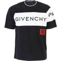 Givenchy T-Shirt for Men, Black, Cotton, 2019, L M XL