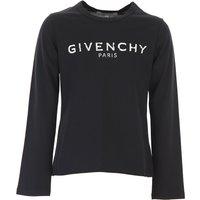 Givenchy Kids T-Shirt for Girls, Black, Cotton, 2019, 10Y 12Y 14Y 4Y 5Y 6Y 8Y