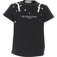 Givenchy Kids T-Shirt for Girls On Sale, Black, Cotton, 2019, 10Y 12Y 4Y 6Y 8Y