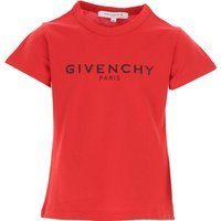 Givenchy Kids T-Shirt for Girls On Sale, Red, Cotton, 2019, 10Y 5Y 8Y