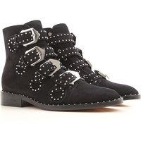 Givenchy Boots for Women, Booties On Sale in Outlet, Black, Suede leather, 2019, 2.5 3.5 6 7.5