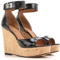 Givenchy Wedges for Women On Sale in Outlet, Black, Patent Leather, 2019, 2.5 3.5 4.5 5.5