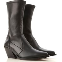Givenchy Boots for Women, Booties On Sale in Outlet, Black, Leather, 2019, 4.5 5.5 7.5