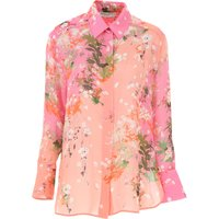 Givenchy Top for Women On Sale, Pink, Silk, 2019, 10 12